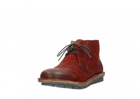 wolky lace up boots 08555 negev 40500 red suede_21