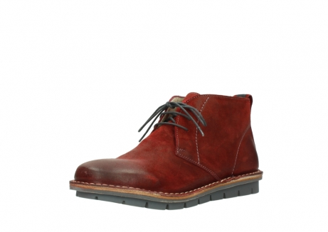 wolky lace up boots 08555 negev 40500 red suede_22