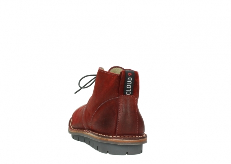 wolky lace up boots 08555 negev 40500 red suede_6