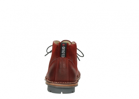 wolky lace up boots 08555 negev 40500 red suede_7