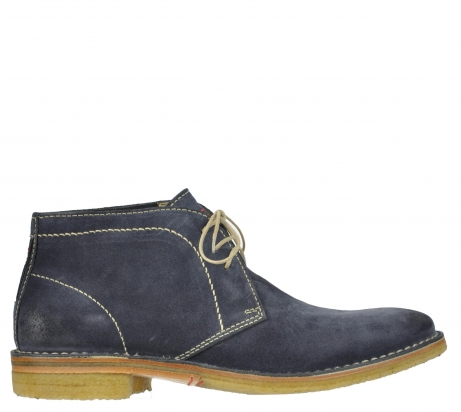 wolky veterboots 08560 gibson 40210 antraciet suede