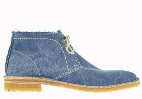 wolky veterboots 08560 gibson 90800 donkerblauw canvas
