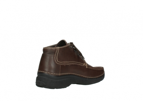 wolky bottines a lacets 09203 roll moc men 50300 cuir marron_10