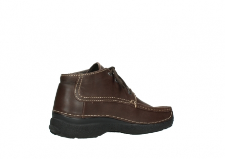 wolky bottines a lacets 09203 roll moc men 50300 cuir marron_11
