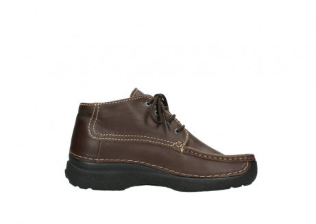 wolky bottines a lacets 09203 roll moc men 50300 cuir marron_13
