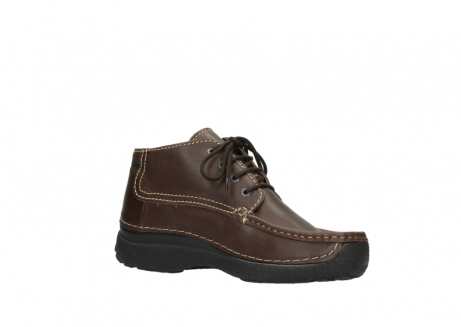 wolky bottines a lacets 09203 roll moc men 50300 cuir marron_15