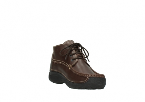 wolky bottines a lacets 09203 roll moc men 50300 cuir marron_17