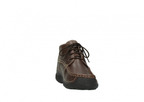 wolky bottines a lacets 09203 roll moc men 50300 cuir marron_18