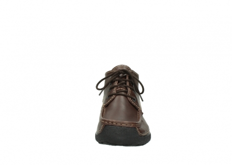 wolky bottines a lacets 09203 roll moc men 50300 cuir marron_19
