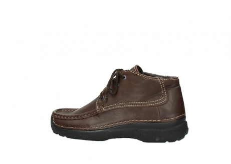 wolky bottines a lacets 09203 roll moc men 50300 cuir marron_2