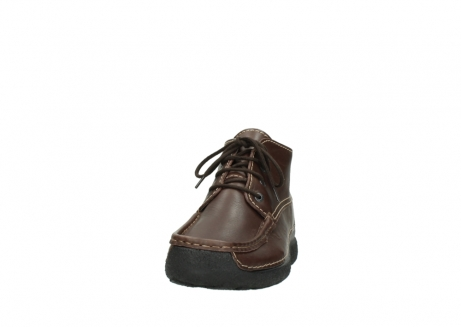 wolky bottines a lacets 09203 roll moc men 50300 cuir marron_20