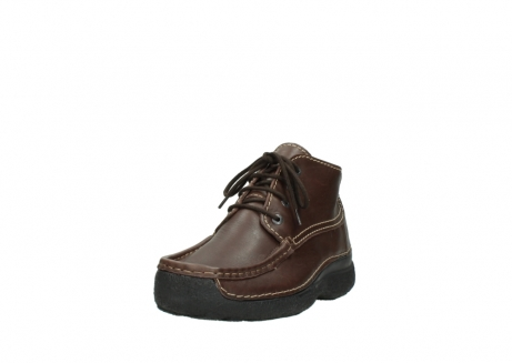 wolky bottines a lacets 09203 roll moc men 50300 cuir marron_21