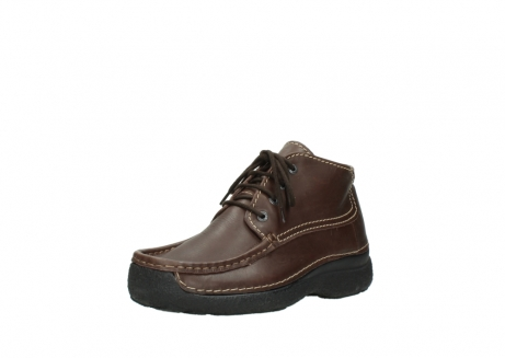 wolky bottines a lacets 09203 roll moc men 50300 cuir marron_22