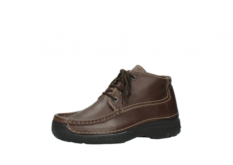 wolky bottines a lacets 09203 roll moc men 50300 cuir marron_23