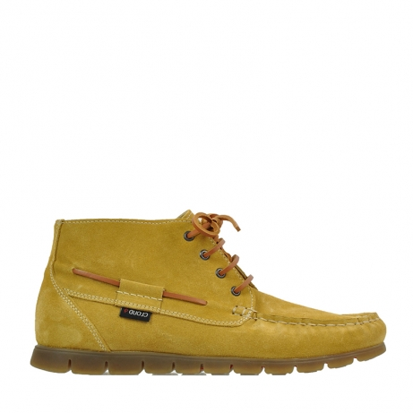 wolky lace up boots 09325 extreme 40920 ocher yellow suede