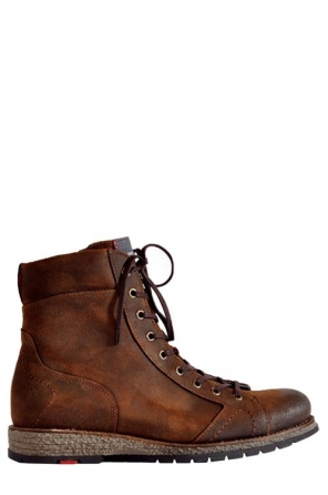wolky lace up boots 09352 rock 40430 cognac suede