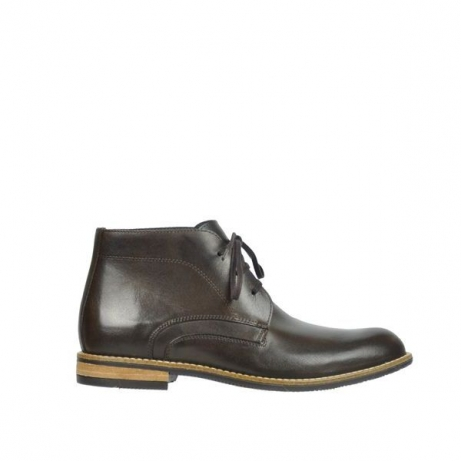 wolky boots 09381 chicago 30300 braun leder