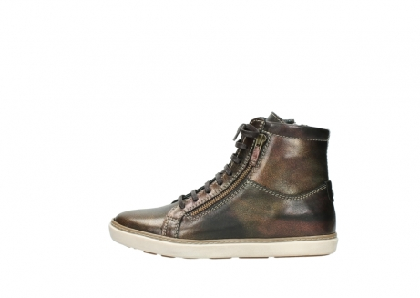 wolky lace up boots 09453 ontario 90320 bronze metallic leather_1