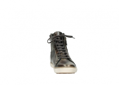 wolky lace up boots 09453 ontario 90320 bronze metallic leather_18