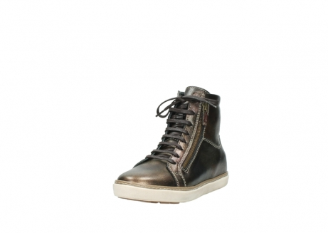 wolky lace up boots 09453 ontario 90320 bronze metallic leather_21