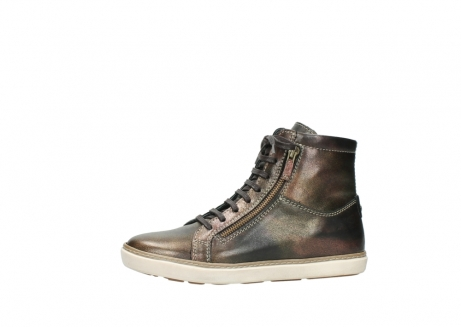 wolky lace up boots 09453 ontario 90320 bronze metallic leather_24