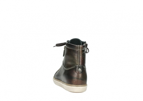 wolky lace up boots 09453 ontario 90320 bronze metallic leather_6