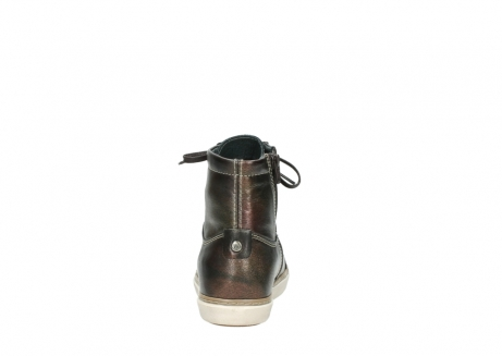 wolky lace up boots 09453 ontario 90320 bronze metallic leather_7