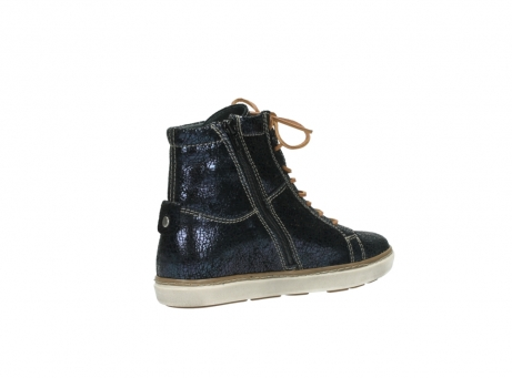 wolky lace up boots 09453 ontario 90800 dark blue craquelac leather_10