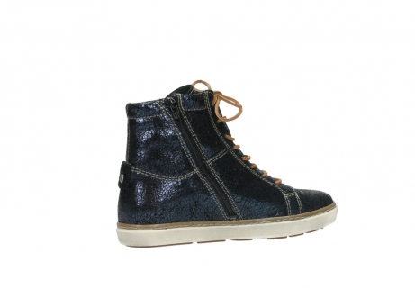 wolky lace up boots 09453 ontario 90800 dark blue craquelac leather_11