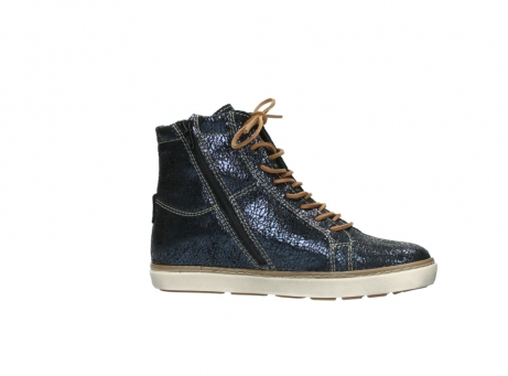 wolky lace up boots 09453 ontario 90800 dark blue craquelac leather_14