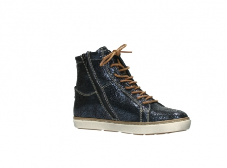 wolky lace up boots 09453 ontario 90800 dark blue craquelac leather_15