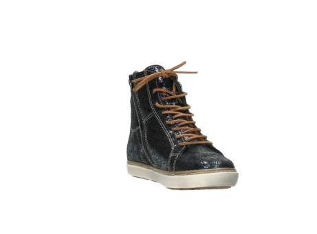 wolky lace up boots 09453 ontario 90800 dark blue craquelac leather_17