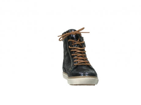 wolky lace up boots 09453 ontario 90800 dark blue craquelac leather_18