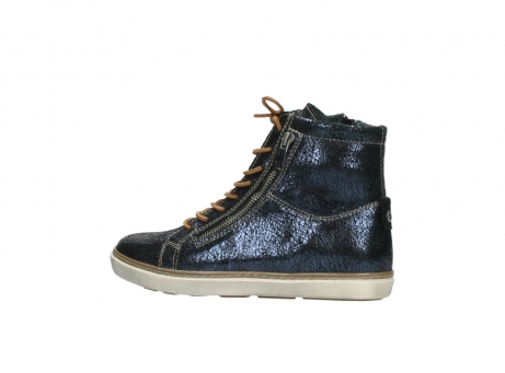 wolky lace up boots 09453 ontario 90800 dark blue craquelac leather_2