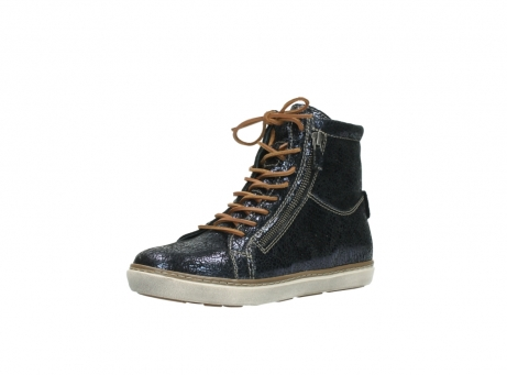 wolky lace up boots 09453 ontario 90800 dark blue craquelac leather_22