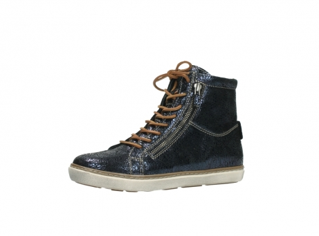 wolky lace up boots 09453 ontario 90800 dark blue craquelac leather_23