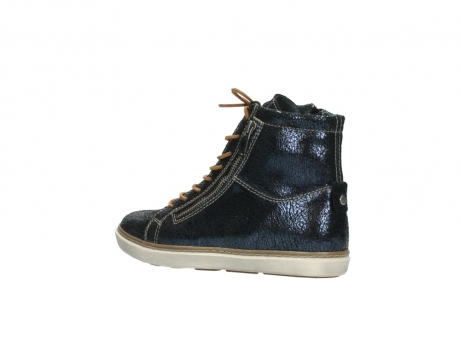 wolky lace up boots 09453 ontario 90800 dark blue craquelac leather_3