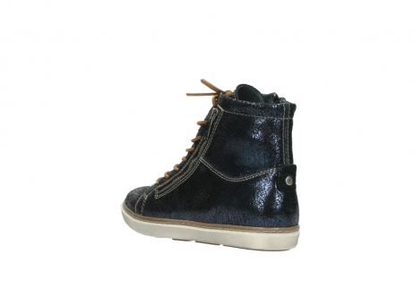 wolky lace up boots 09453 ontario 90800 dark blue craquelac leather_4