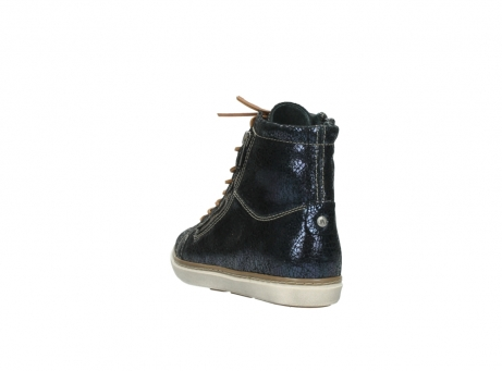 wolky lace up boots 09453 ontario 90800 dark blue craquelac leather_5