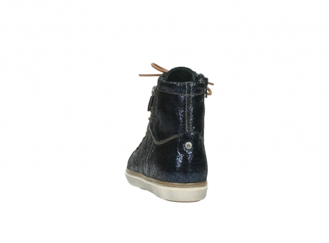 wolky lace up boots 09453 ontario 90800 dark blue craquelac leather_6