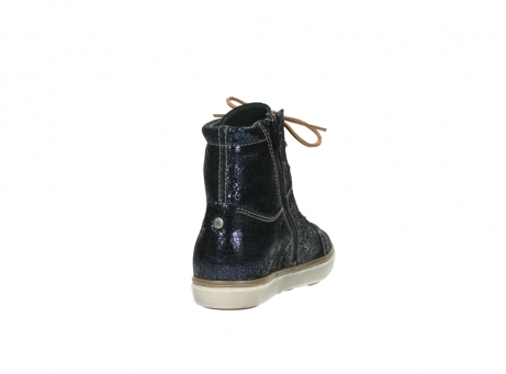 wolky lace up boots 09453 ontario 90800 dark blue craquelac leather_8