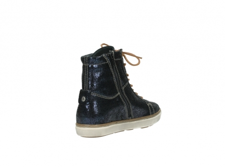 wolky lace up boots 09453 ontario 90800 dark blue craquelac leather_9