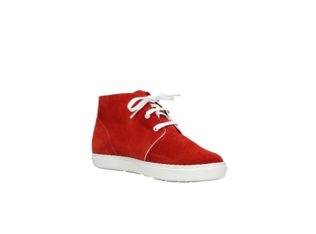 wolky lace up boots 09460 columbia 40500 red suede_16