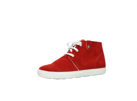 wolky lace up boots 09460 columbia 40500 red suede_23
