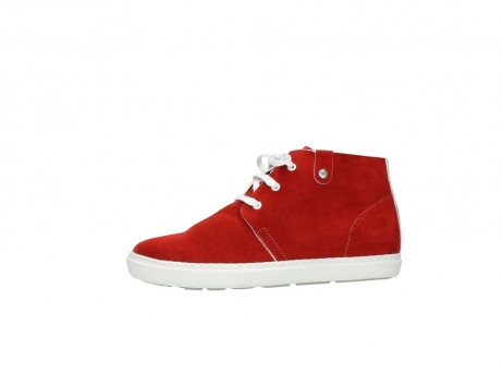 wolky bottines a lacets 09460 columbia 40500 suede rouge_24