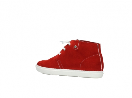 wolky bottines a lacets 09460 columbia 40500 suede rouge_3
