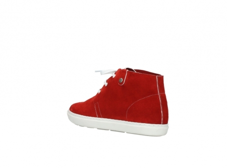 wolky lace up boots 09460 columbia 40500 red suede_4