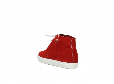 wolky lace up boots 09460 columbia 40500 red suede_5