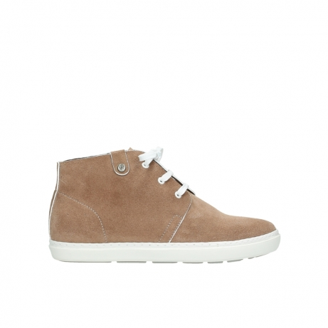 wolky lace up boots 09460 columbia 40620 light brown suede
