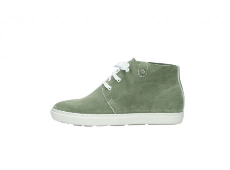 wolky bottines a lacets 09460 columbia 40700 suede vert_1